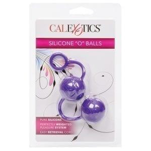 """Posh Silicone """"O"""" Balls-Purple - SE1321-40-3"""