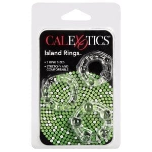 Island Rings-Clear - SE1429-00