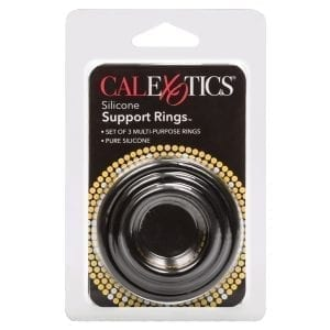 Silicone Support Rings-Black - SE1455-25-2