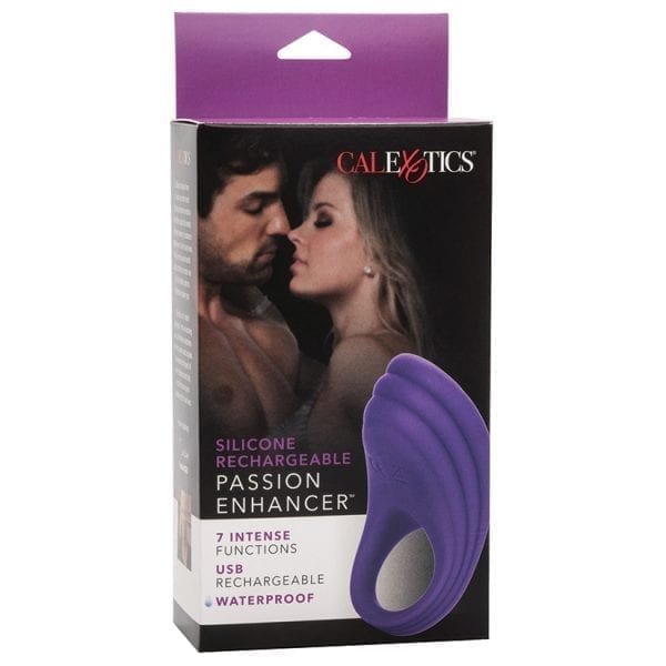 Silicone Rechargeable Passion Enhancer - SE1841-05-3