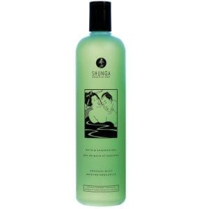 Shunga Bath & Shower Gel-Sensual Mint 16oz - SH6500