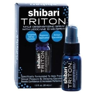 Shibari Triton Male Desensitizing Spray 1oz - SHI700