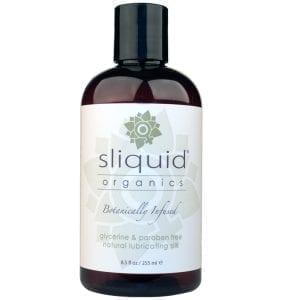 Sliquid Organics Intimate Glide-Silk Hybrid 8.5oz - SLQ1568