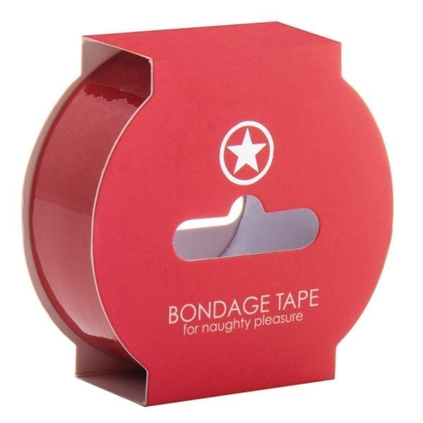 Ouch! Non Sticky Bondage Tape-Red - SMO003RED