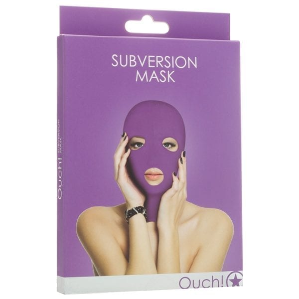 Ouch! Subversion Mask-Purple - SMO034PUR