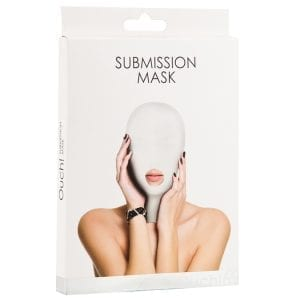 Ouch! Submission Mask-White - SMO035WHI