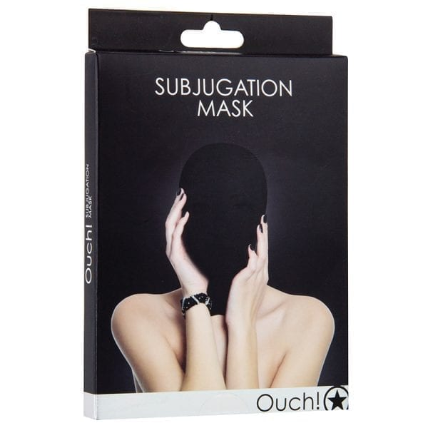 Ouch! Subjugation Mask-Black - SMO036BLK