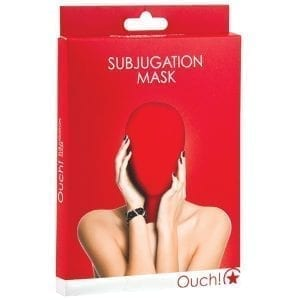 Ouch! Subjugation Mask-Red - SMO036RED