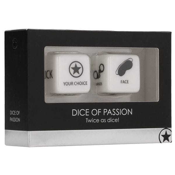 Ouch! Dice Of Passion-Black - SMO232BLK