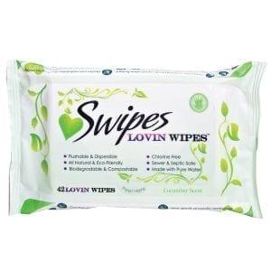 Swipes Lovin Wipes Cucumber (42 Pack) - SW001