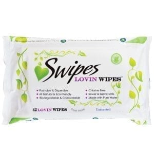 Swipes Lovin Wipes Unscented (42 Pack) - SW002