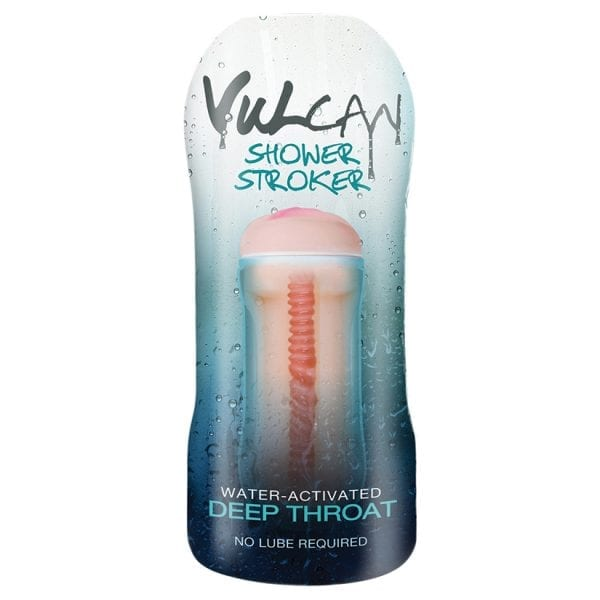 CyberSkin H2O Vulcan Shower Stroker Deep Throat - T1600406