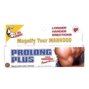 Prolong Plus Male Prolong Cream 2oz - T3300-7