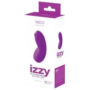 Vedo Izzy Rechargeable Clitoral Vibe-Violet - VIF0410