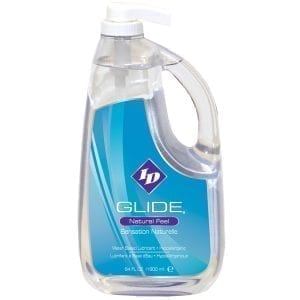 ID Glide Natural Feel Lubricant 64oz  (Pump) - WL1542-05