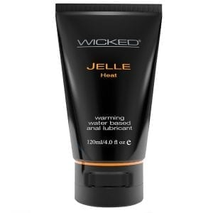 Wicked Jelle Heat Warming Waterbased Anal Lubricant 4oz - WS90229