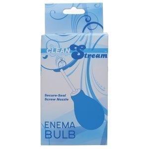Clean Stream Enema Bulb-Blue - XRAB904